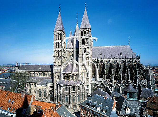 Cathedral of TOURNAI from the Belfry