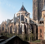 Bruges, Apse of the chuch of our Lady